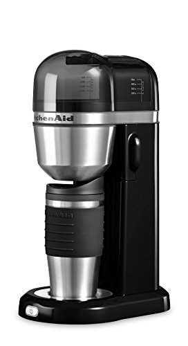 Kitchenaid 5KCM0402EOB Kaffeemaschine, schwarz