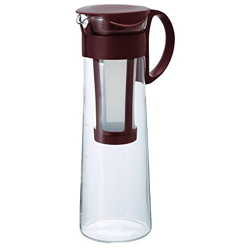 Hario Water Brew Coffee Pot, 1000ml, Brown by