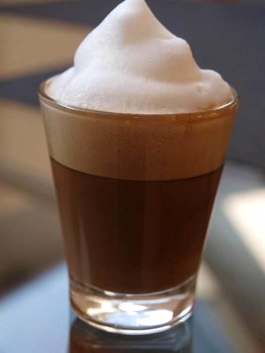 Milchschaum für Kaffee