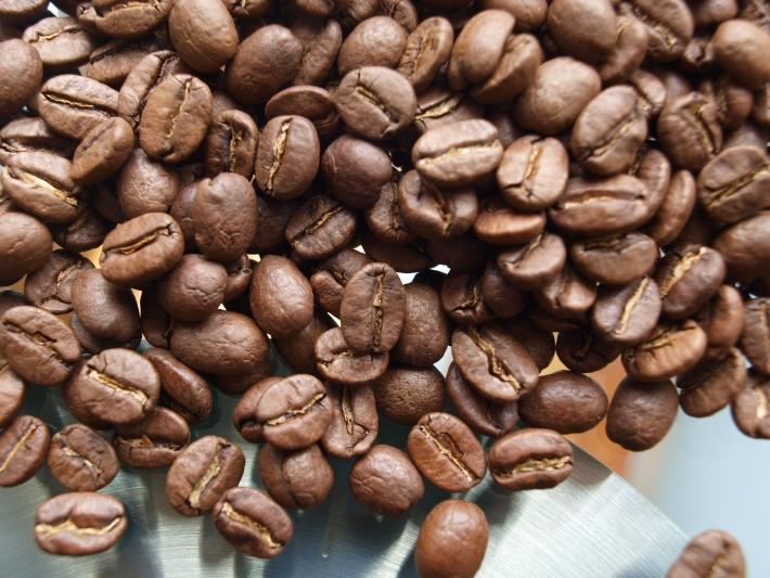 Kolumbien Kaffeebohnen
