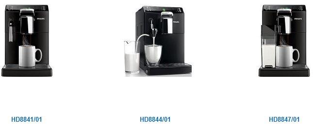 Philips 4000 Serie Kaffeevollautomaten