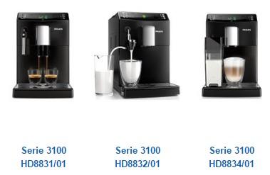 Philips Kaffeevollautomat 3100 Serie