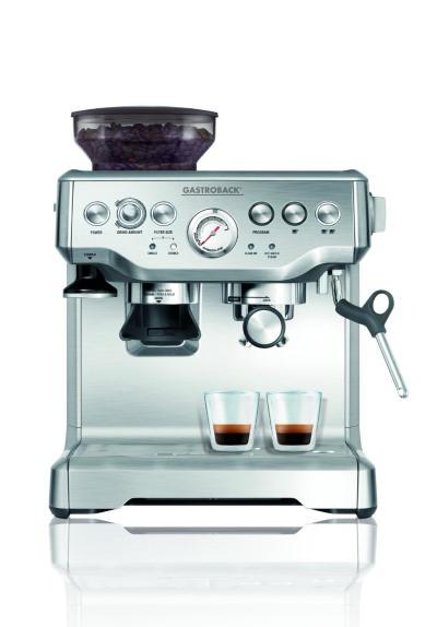 Gastroback 42612 S Espressomaschine mit Mahlwerk