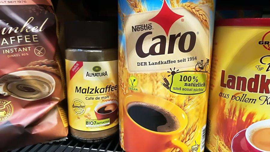 Kaffeeersatz - die Auswahl ist gross